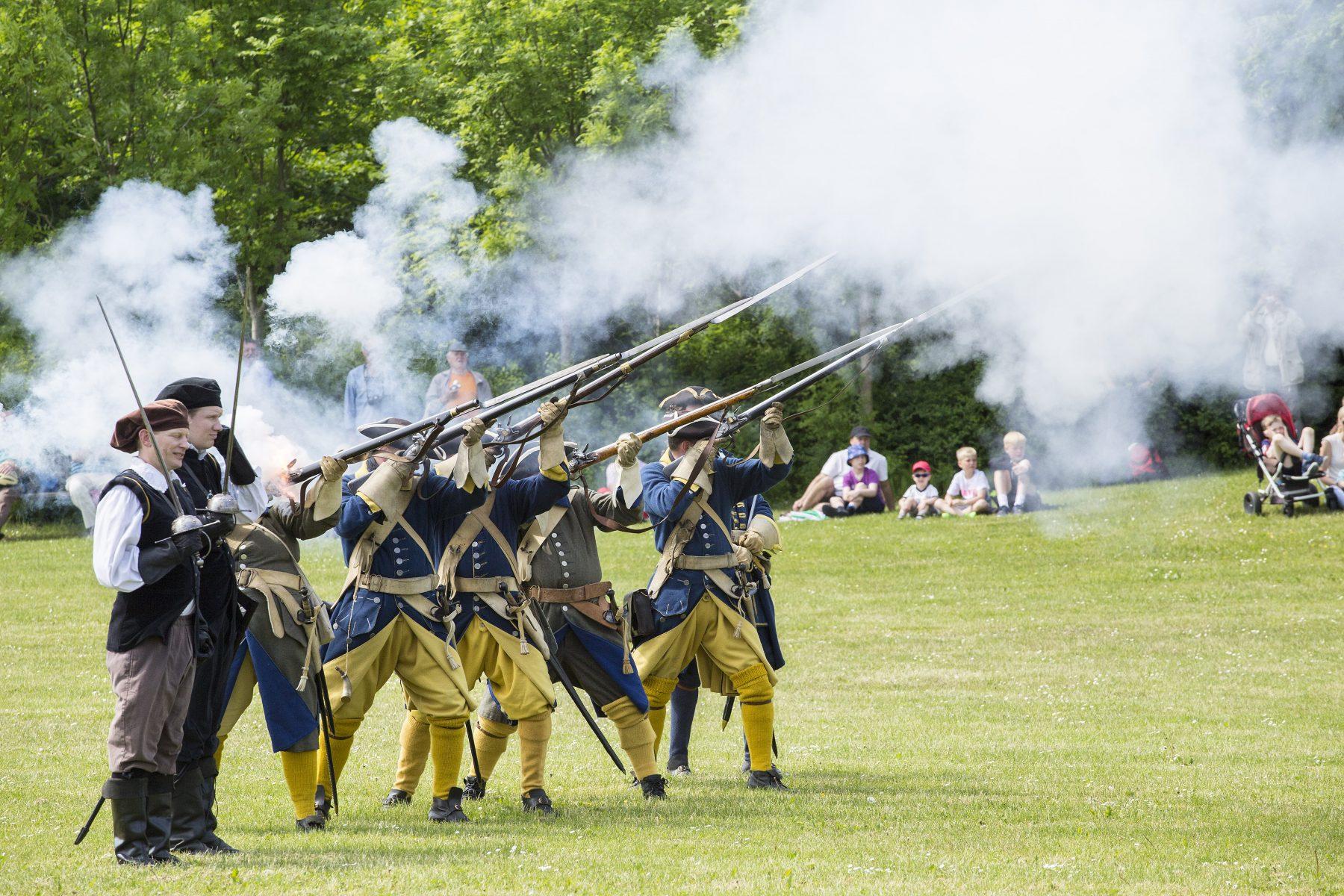 Lokalhistorie: Karl Gustav-krigene og Svenske Slaget