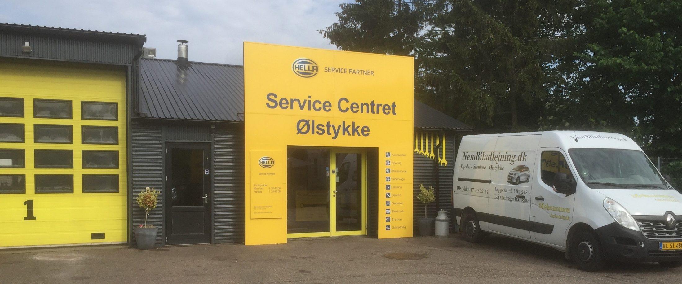 Service Centret – Hella Service Partner i Ølstykke