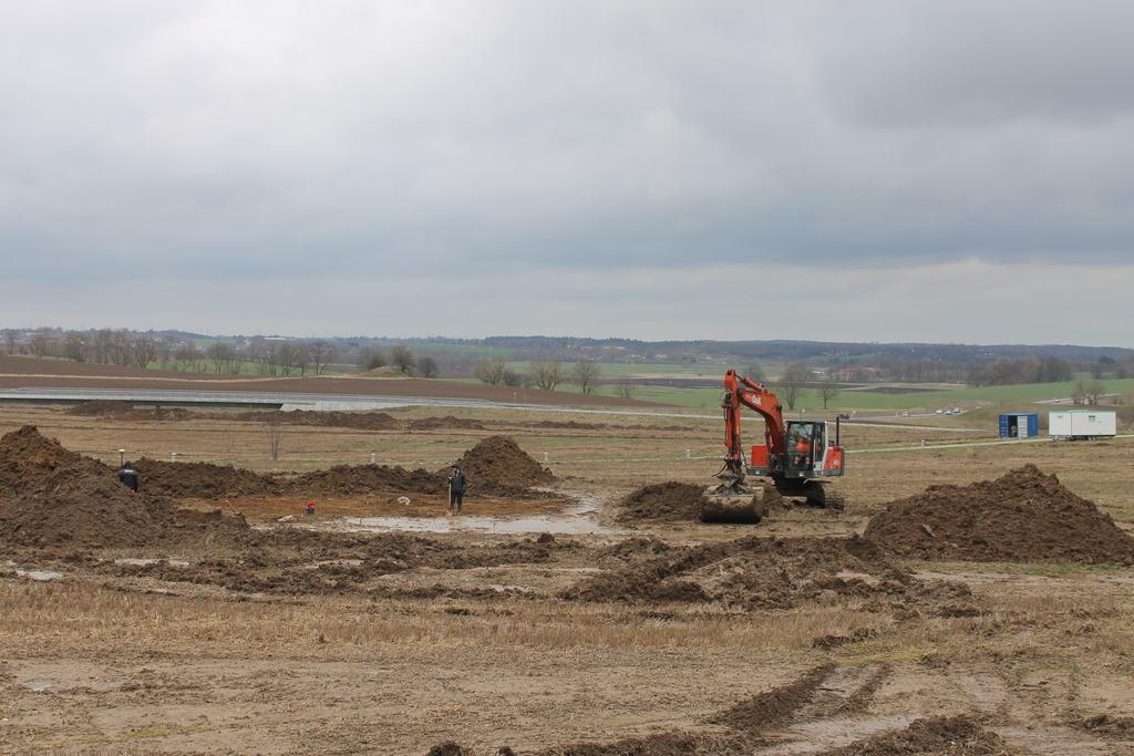 Arkæologisk udgravning i Smørumnedre