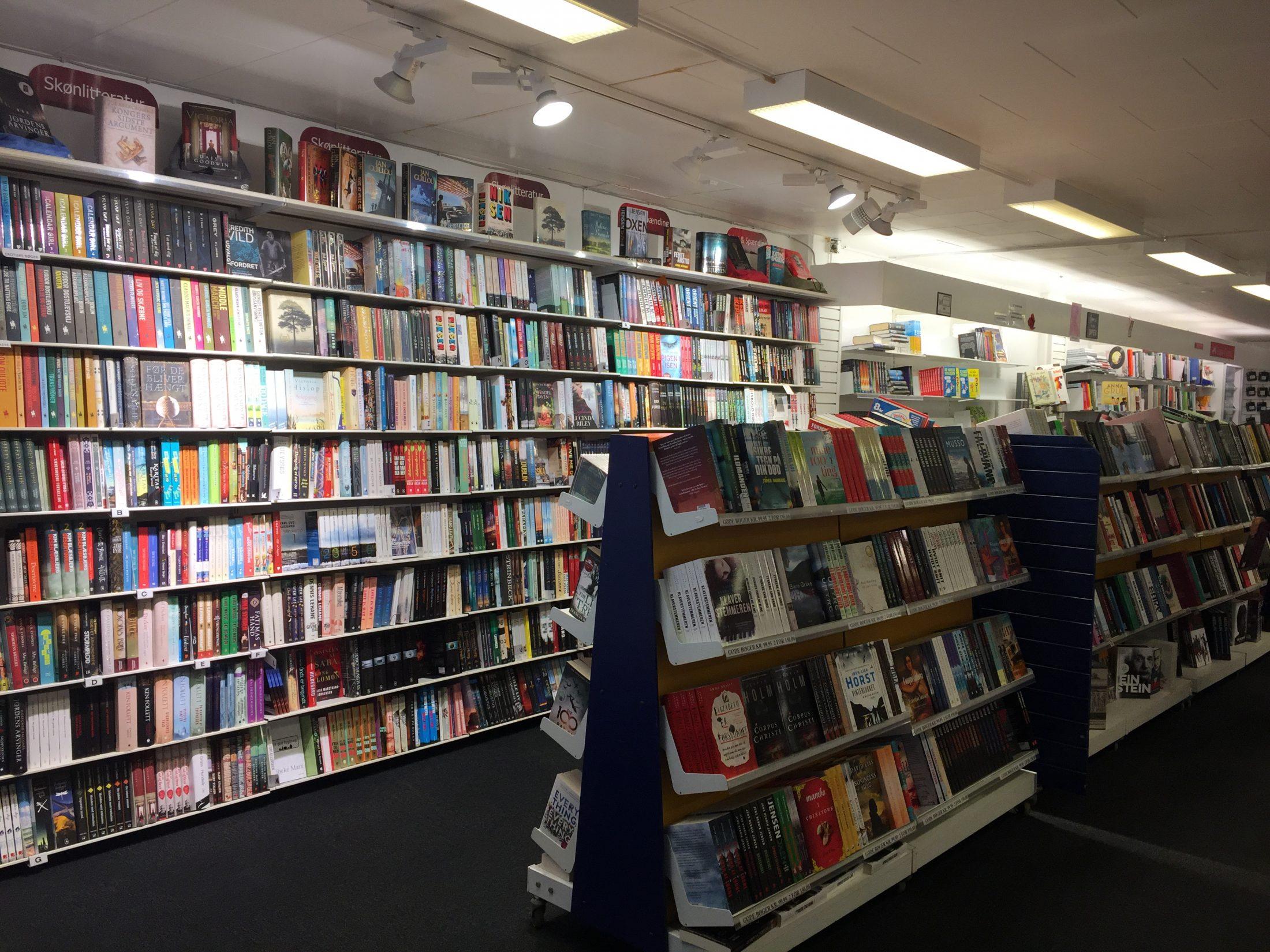 Stenløse Boghandel i Egedal Centret - Vores Egedal