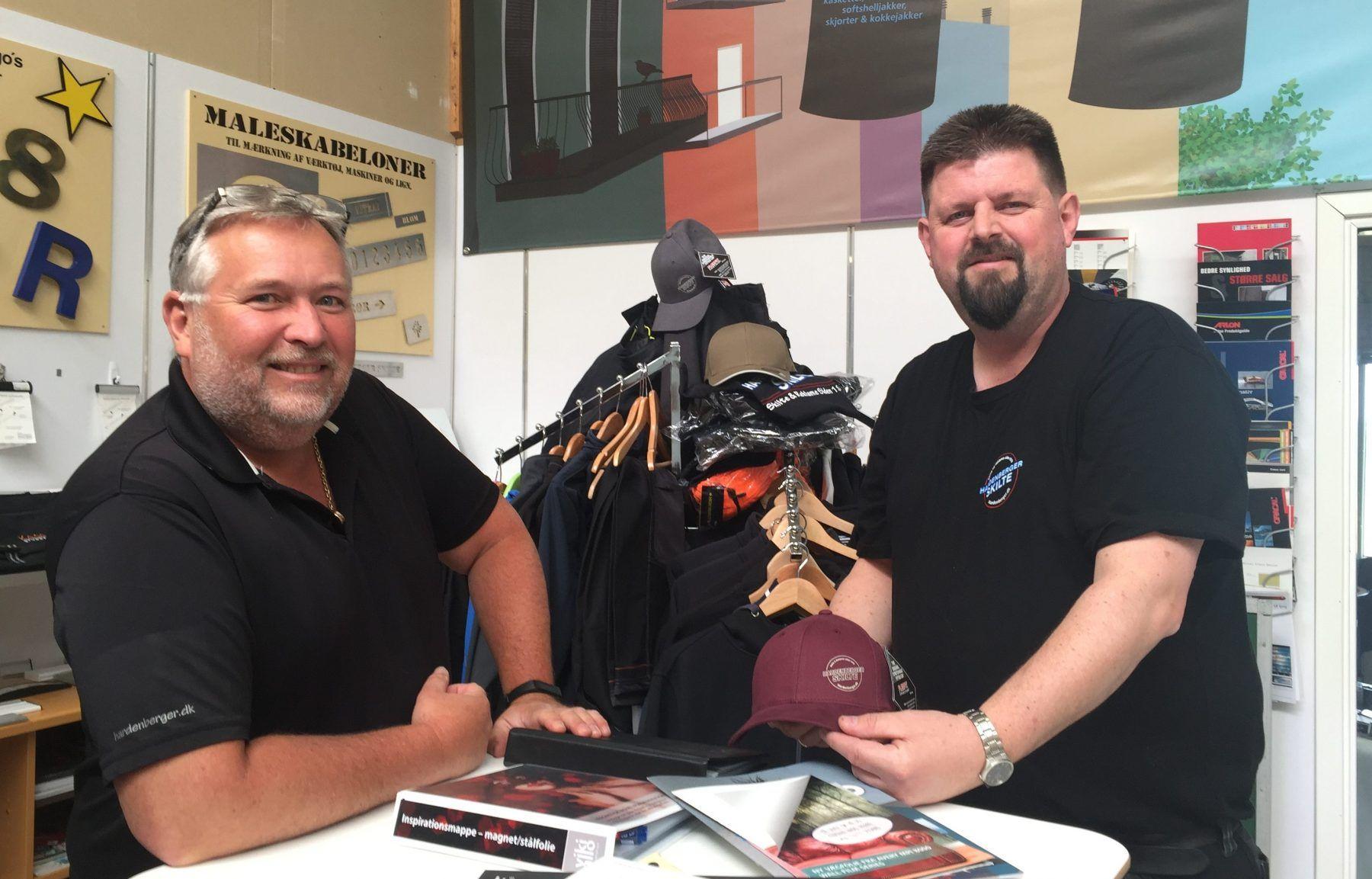 På besøg hos Hardenberger Skilte i Ølstykke