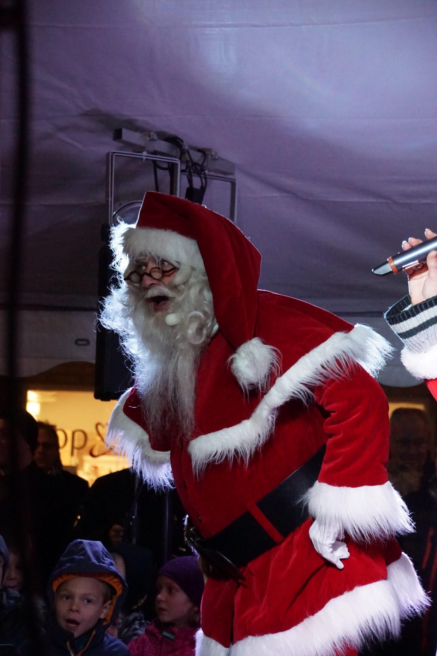 Juletrætænding i Egedal Centret - Vores Egedal