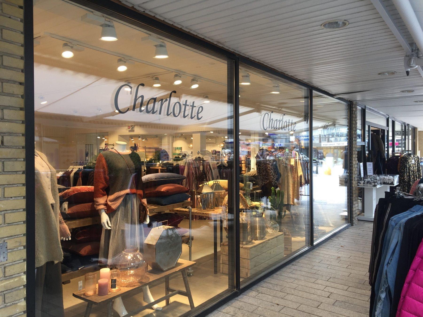 Butik Charlotte i Egedal Centret - Vores Egedal