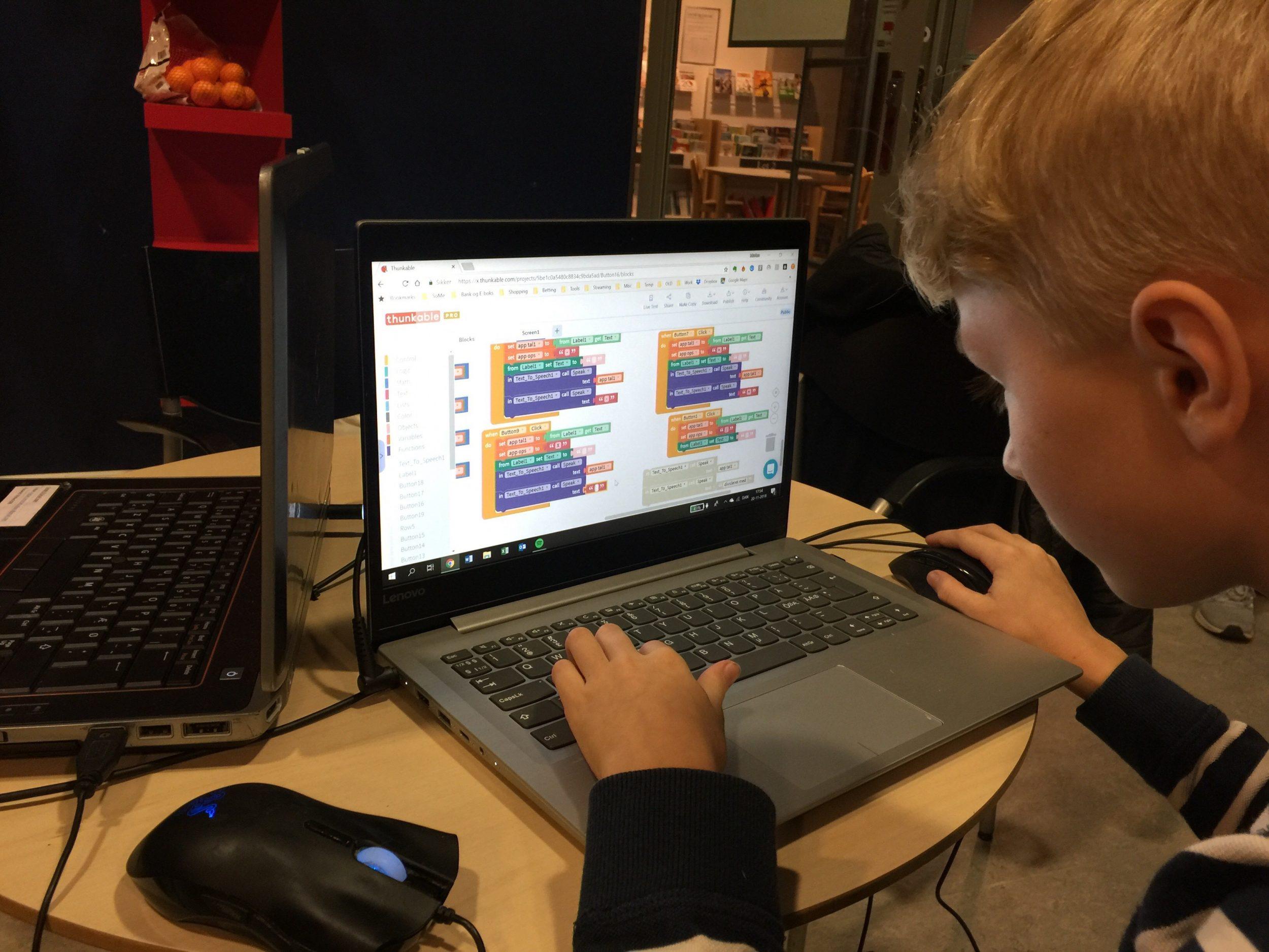 I Smørum lærer børn at kode helt fra 8-års alderen