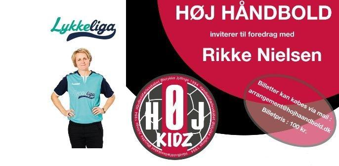 Foredrag med Rikke Nielsen - Høj Håndbold - Vores Egedal