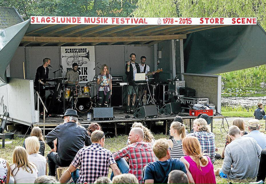 Slagslunde Musikfestival i Egedal Kommune.