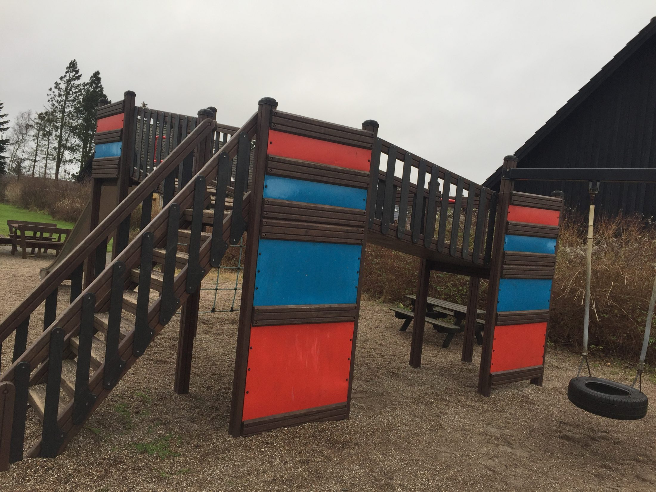 Legeplads ved Højgårdsparken i Ganløse