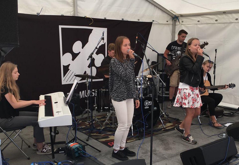 """Elever fra Egedal Musikskole optræder """"På egne ben"""" i Egedal Centret"""