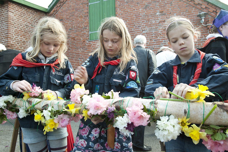 Egedal: Majfest på Skenkelsø Mølle i Ølstykke