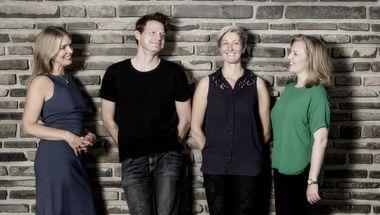Copenhagen Saxophone Quartet spiller i Ganløse Kirke, Egedal