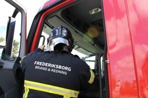 Lige nu: Veksø Skole brænder - Opdateres