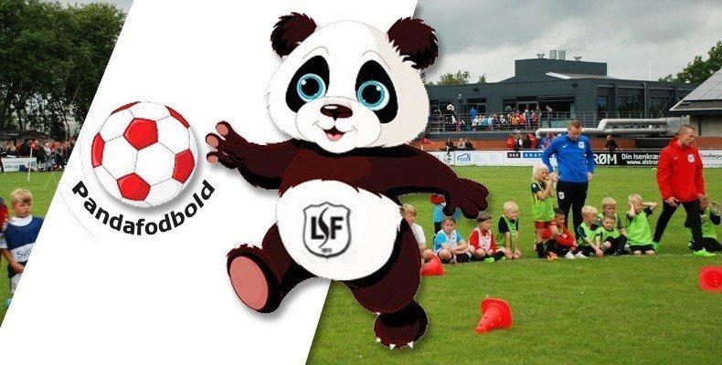Kom til Pandafodbold for 2-4 årige børn på lørdag den 10. august i LSF