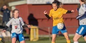 ØFC kvindesenior 1 godt fra start i den nye sæson med 1-2 sejr i Allerød