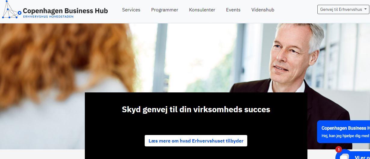 Copenhagen Business Hub – Erhvervshus Hovedstaden