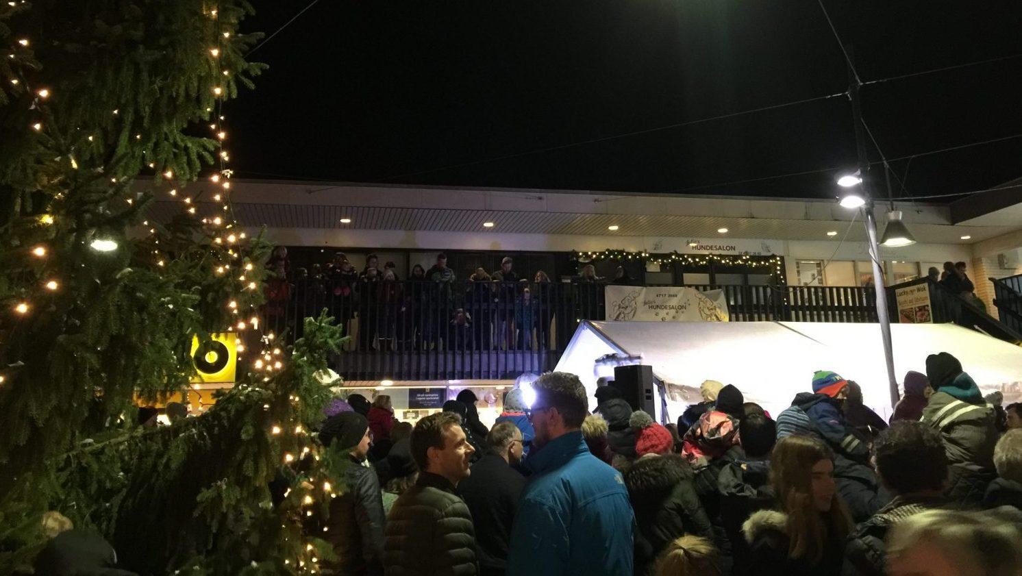 Juletræet tændes i Egedal Centret den 29. november