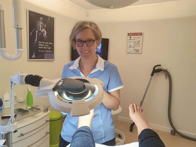 Besøg på Klinik for Fodterapi i Ølstykke: Som at svæve ud af døren