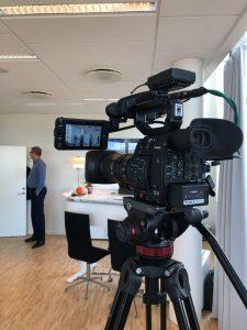 Karsten Søndergaard besvarer borgernes spørgsmål via Livestream