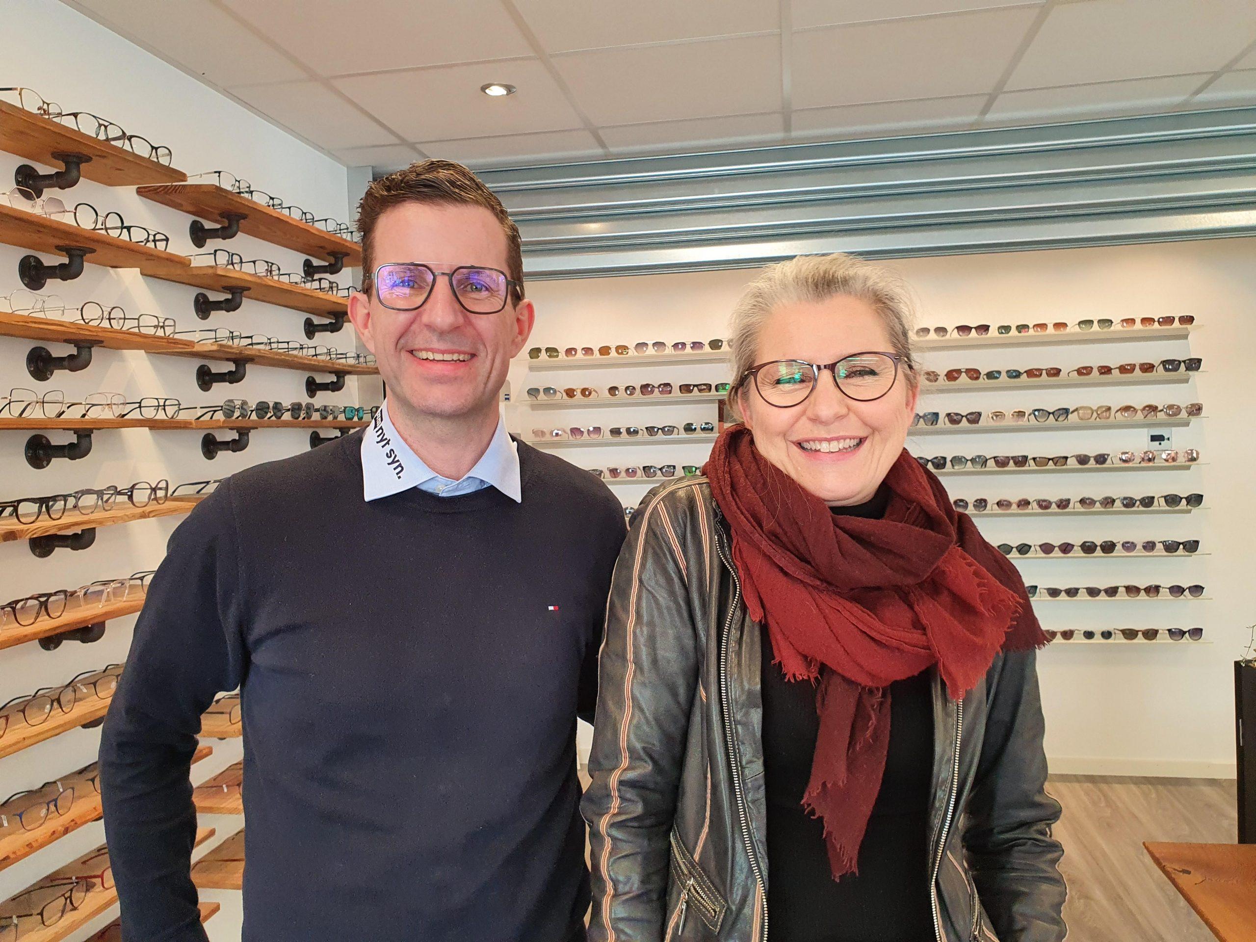 """Når optikeren må kigge med """"nye briller"""" på forretningen"""