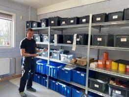 Lokalt Egedal-firma hitter med træningselastikker <br>til hjemmetræning under corona