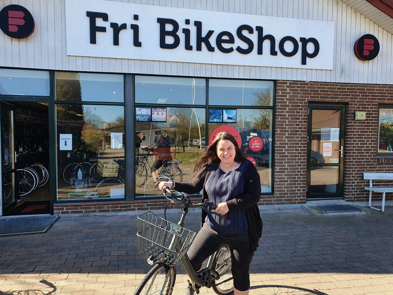 """Fri BikeShop Ølstykke sørger for """"medvind på cykelstien"""""""