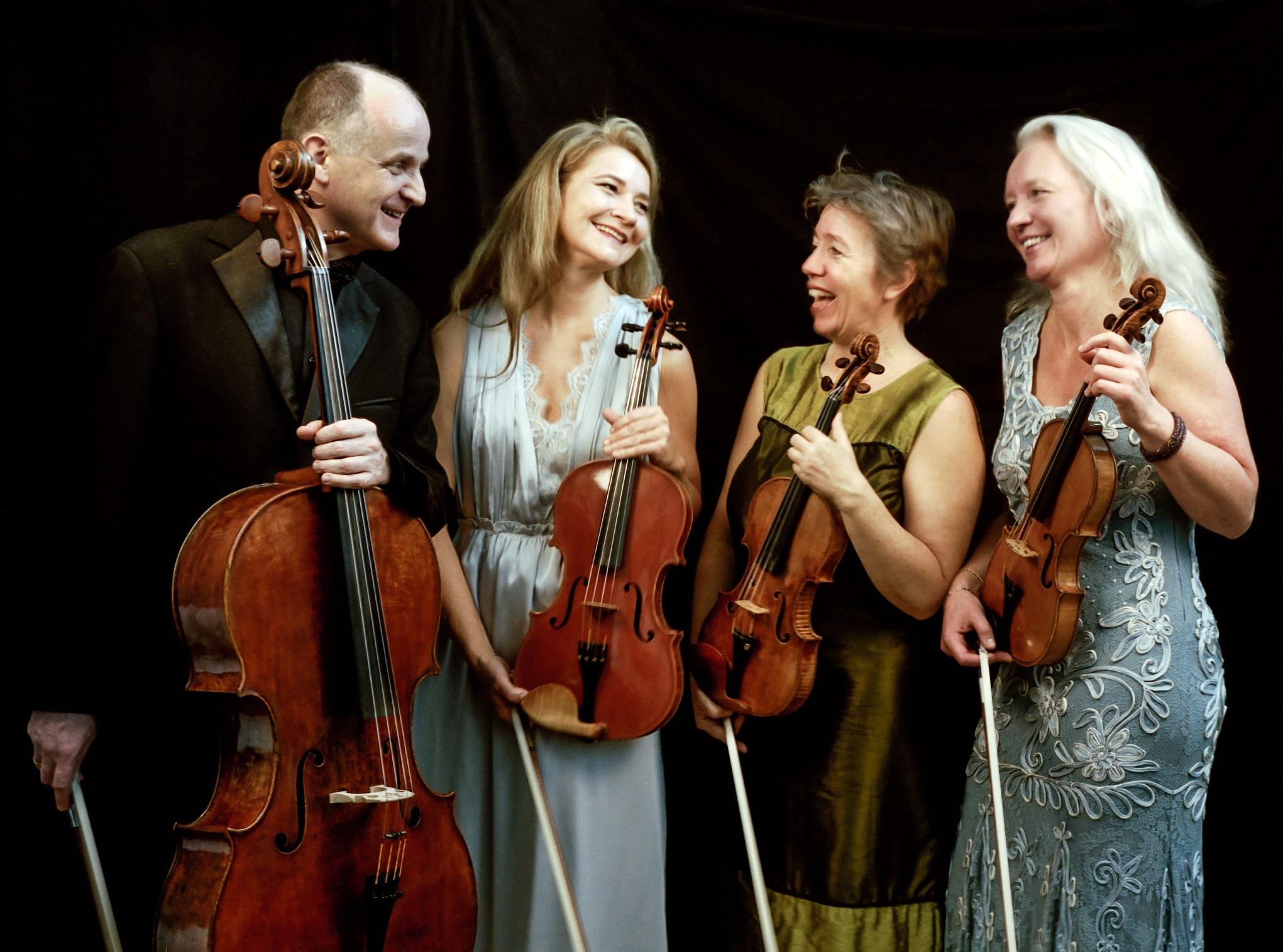 Sæsonens første musikalske oplevelse i Ledøje-Smørum Musikforening Mira Kvartetten giver koncert i Smørum Kulturhus
