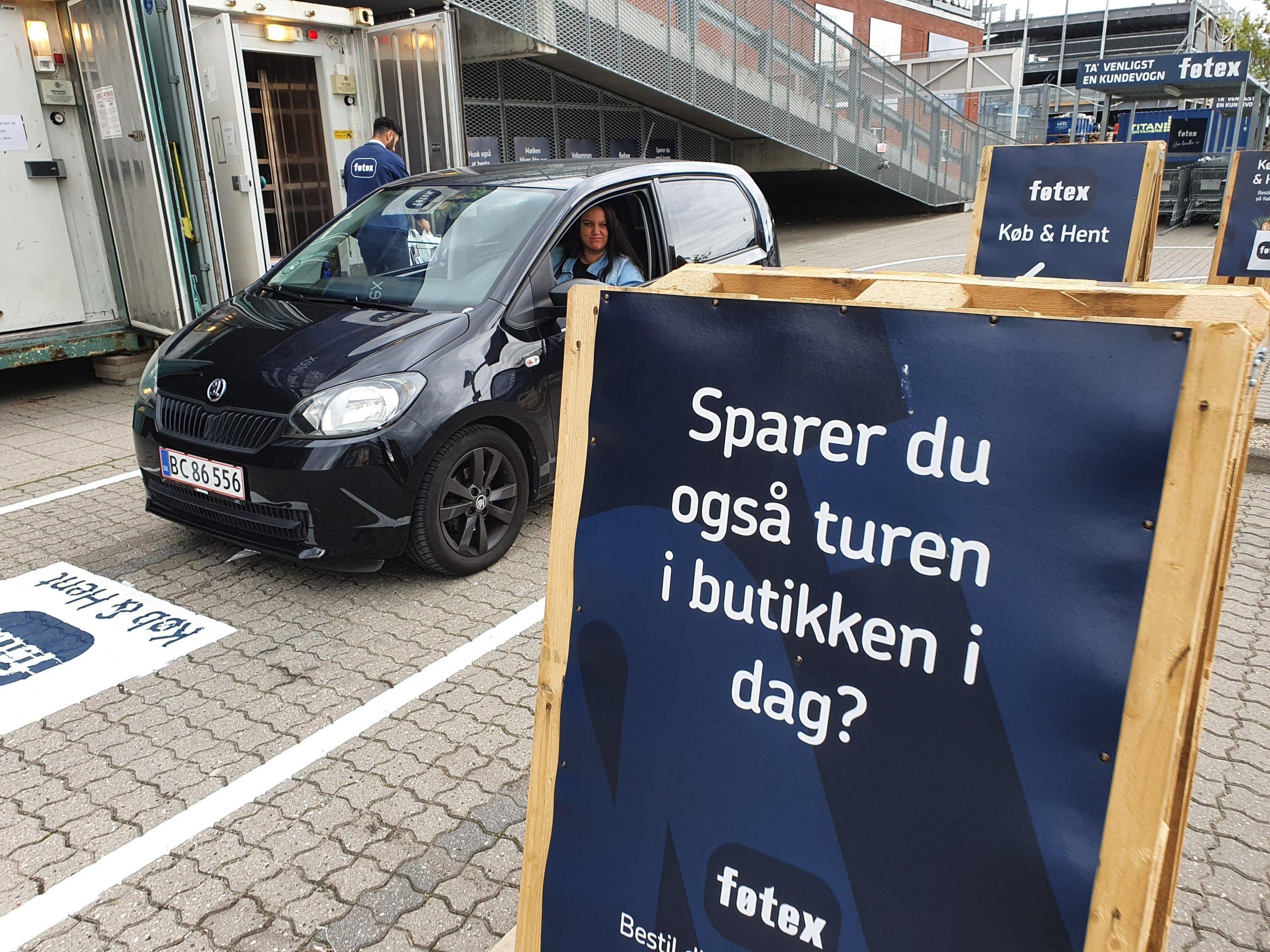 Bestil online og få dine varer leveret i baggagerummet - Køb & Hent hos Føtex