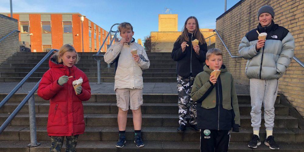 Aktiv i corona-tiden: 6.a fra Ganløse Skole gik til Rom!