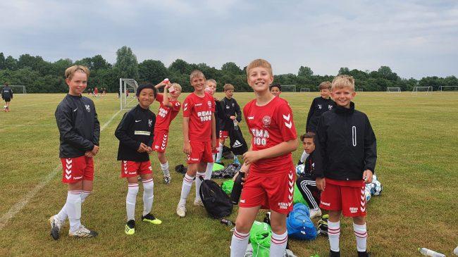 96 børn og unge på fodboldskole i Ølstykke FC
