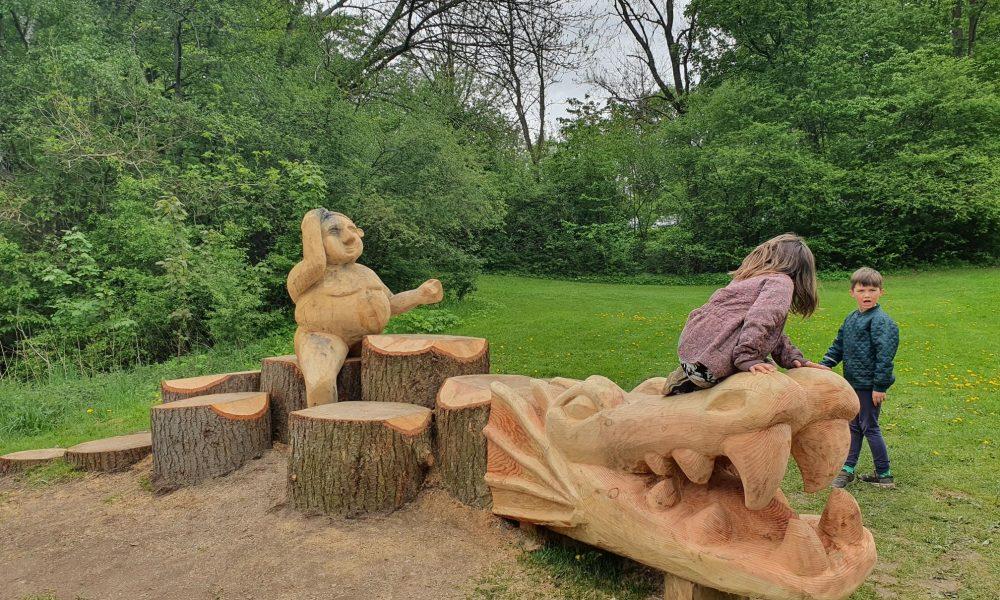Lone Nyhuus er idékvinden bag Egedals nye kulturattraktion Frank Jæger Land
