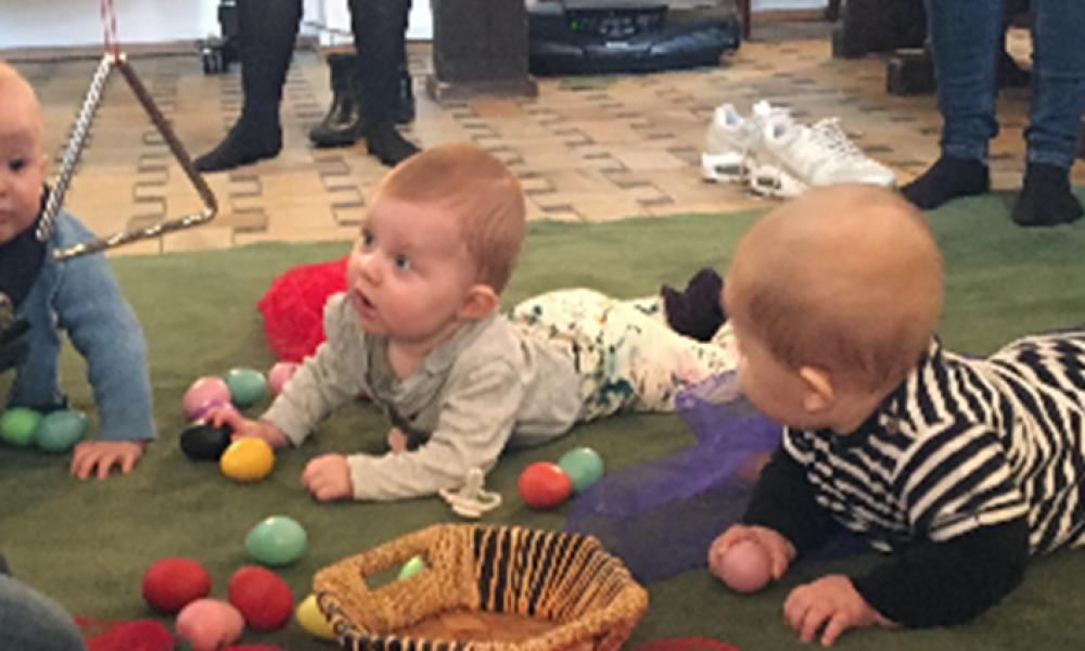 Egedal Musik- og kulturskole starter nye Babyrytmik-hold