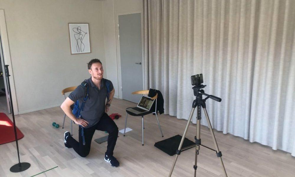 """FysioDanmark Egedal – Ølstykke åbner op for gratis """"live""""-onlinetræning for alle"""