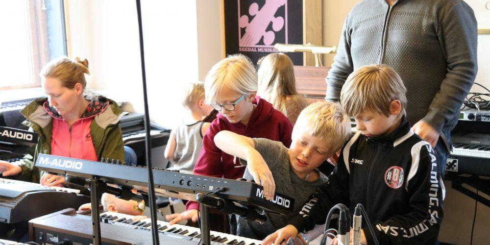 Tilmeldingen er begyndt til Egedal Musik- og Kulturskoles nye sæson