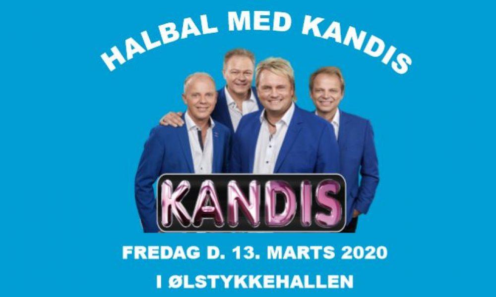 OBS! Flyttes til ny dato – Halbal med Kandis i Ølstykke Hallen