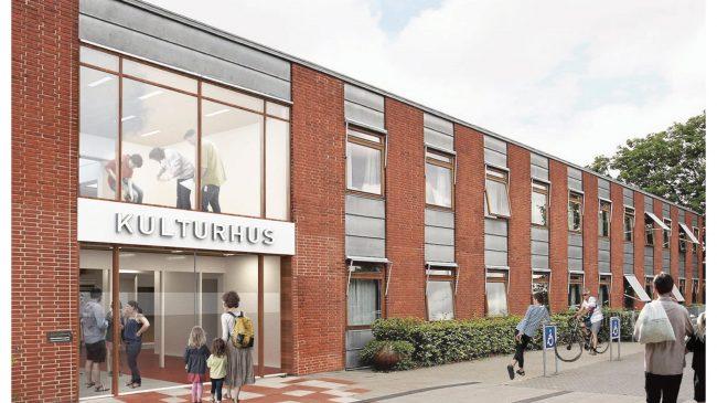Nu slås der hul på renoveringen af Stenløse Kulturhus