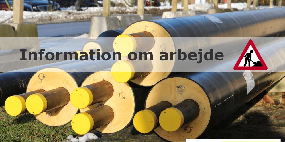 Egedal Fjernvarme: Status på gravearbejde på Frederikssundsvej