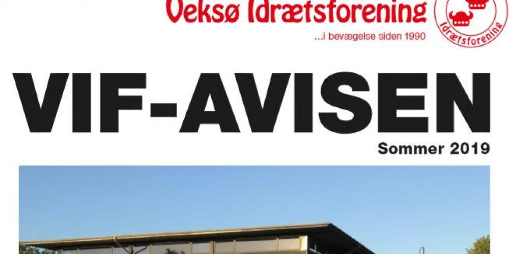 Veksø Idrætsforenings Avis (VIF-Avisen) er netop udkommet